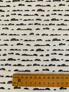 AGF cotton print: Rocky Mountains
