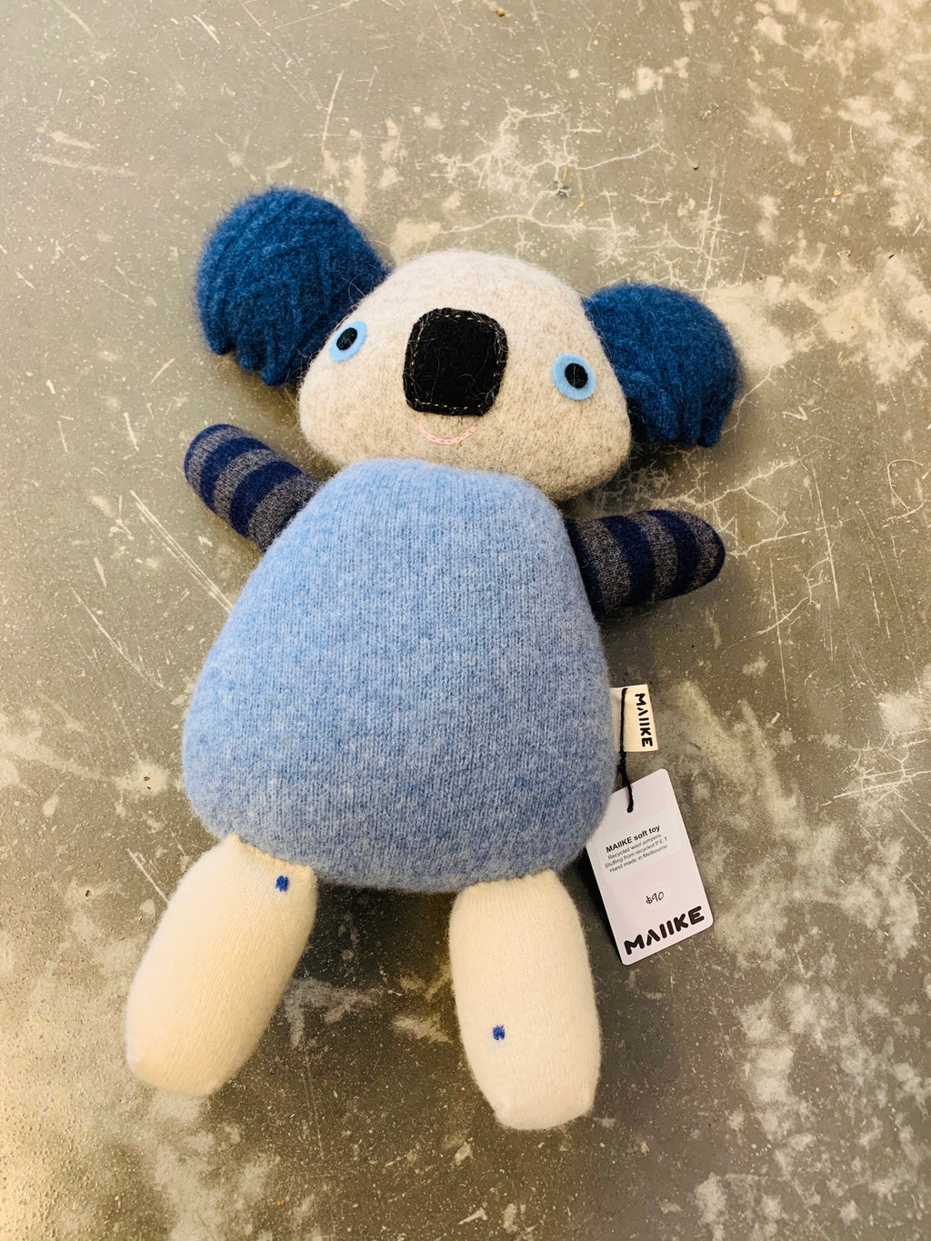 Maiike koala in Blue cream by Aly Peel