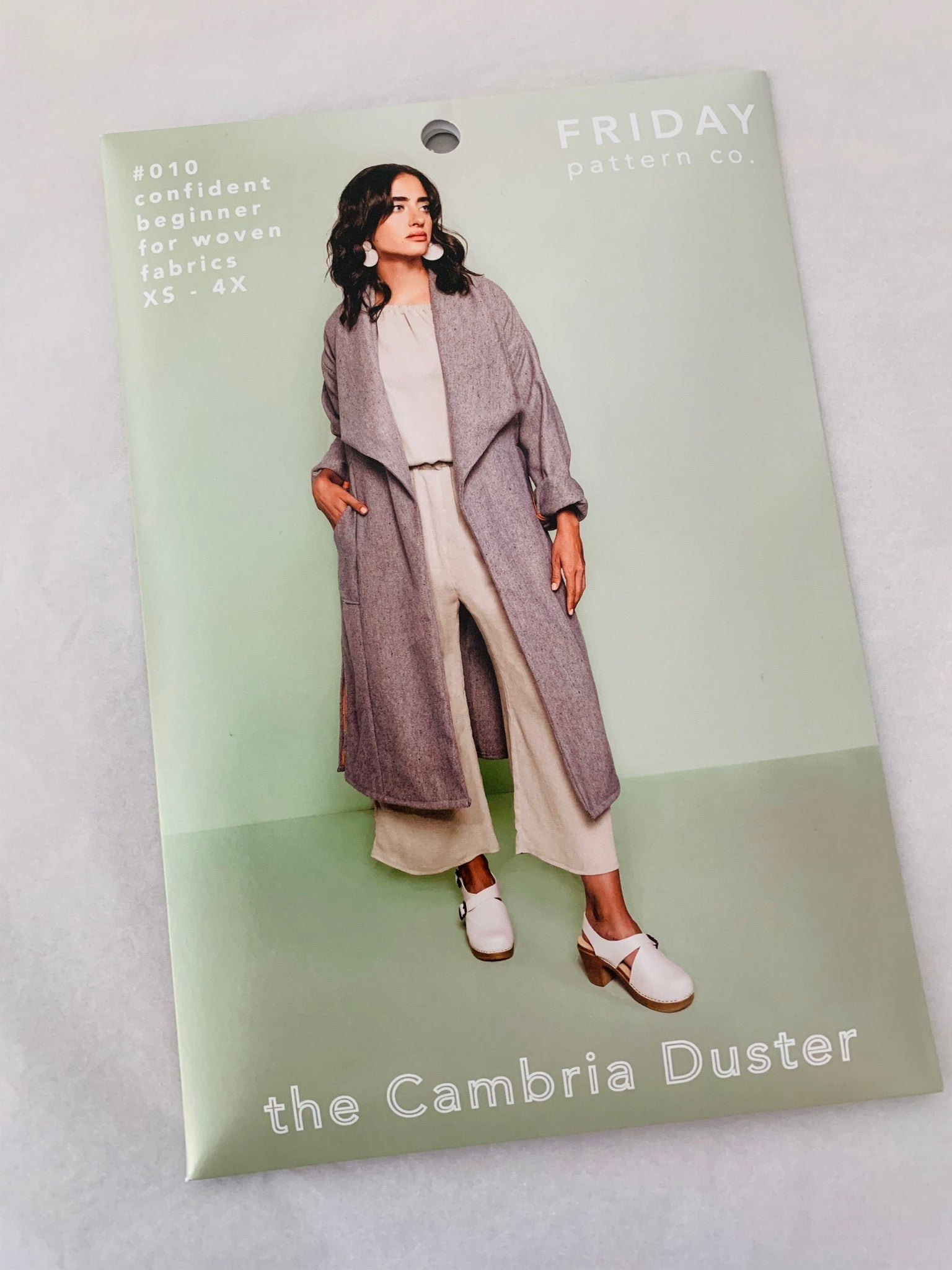 Cambria Duster Sewing Pattern