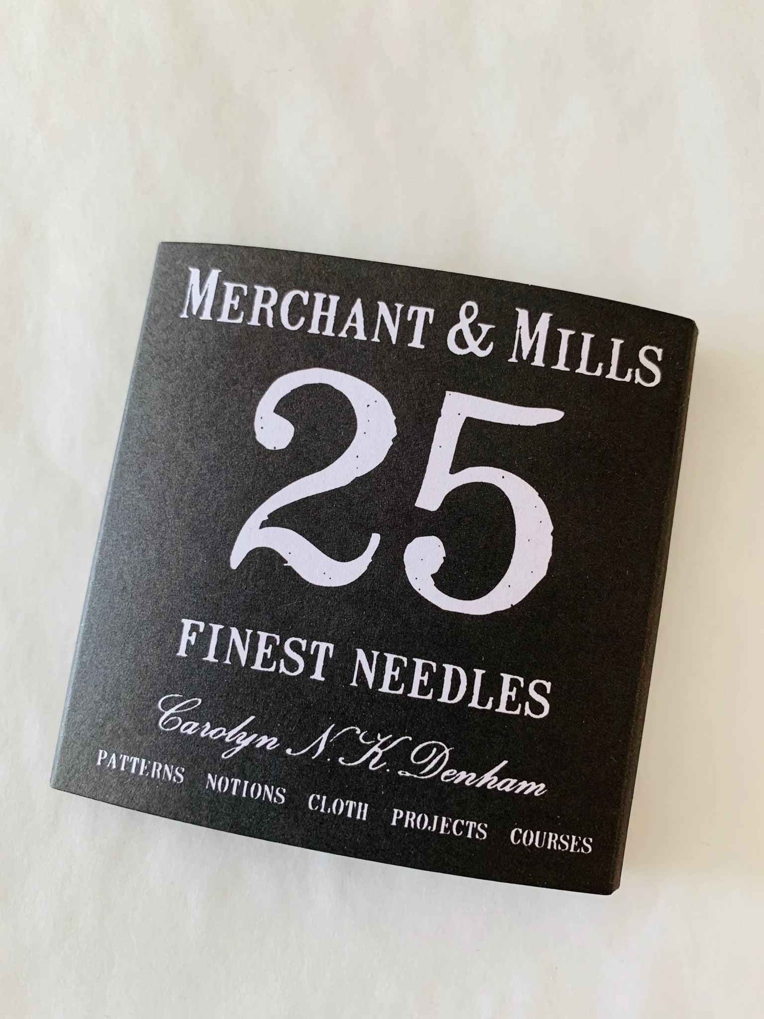 Merchant and Mills 25 Finest Needles
