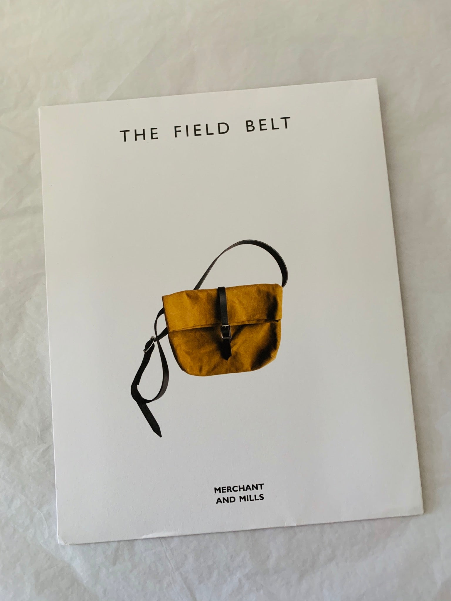 Merchant and Mills The Field Belt Bag pattern