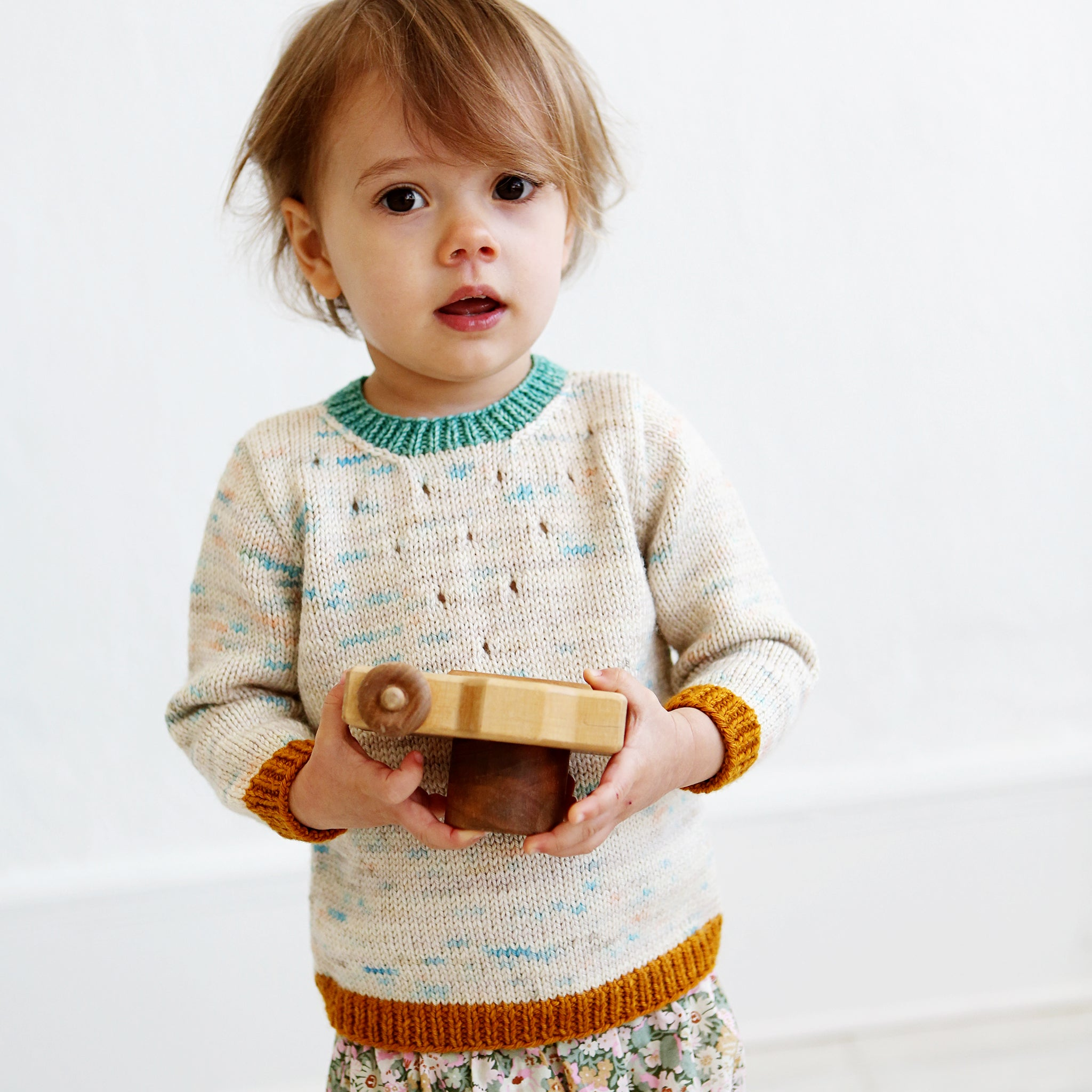 Wiksten Baby + Toddler Iris Pullover Knitting Pattern
