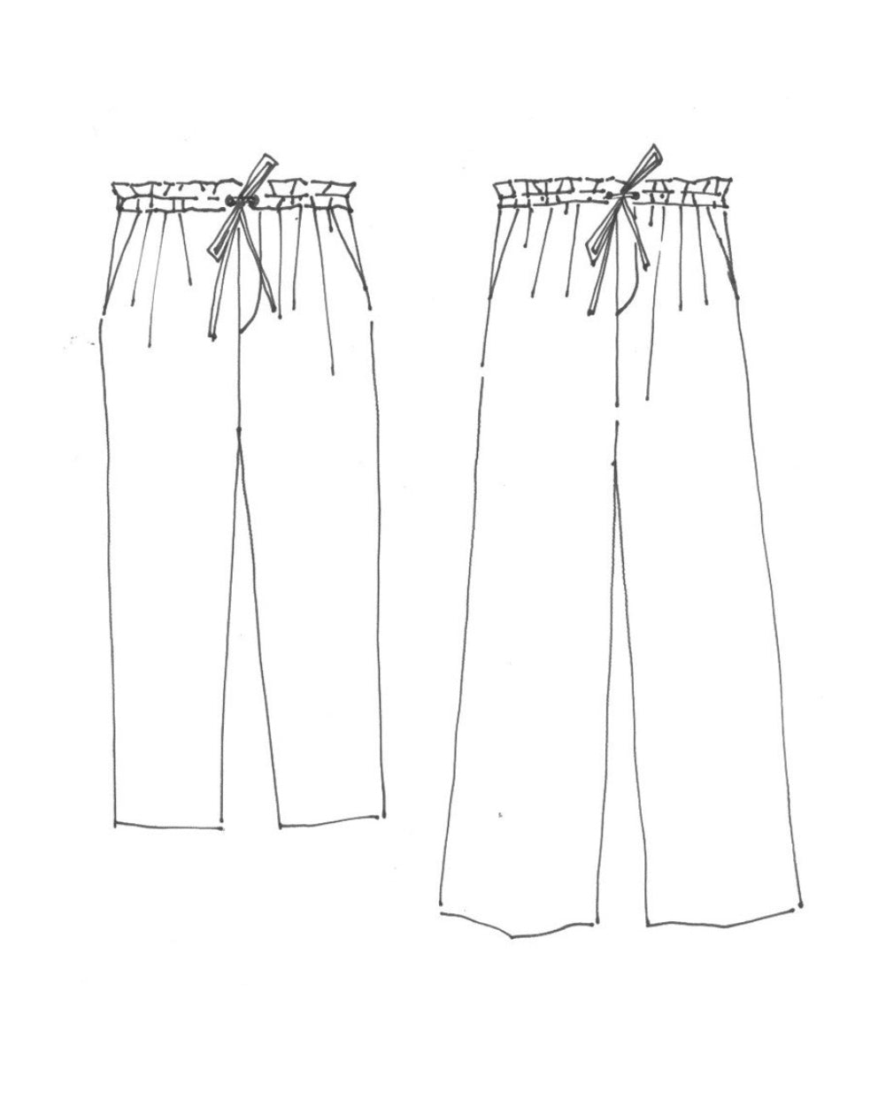 Merchant & Mills 101 Trouser Paper Sewing Pattern