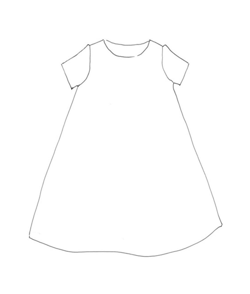 Merchant & Mills Trapeze Dress Paper Sewing Pattern