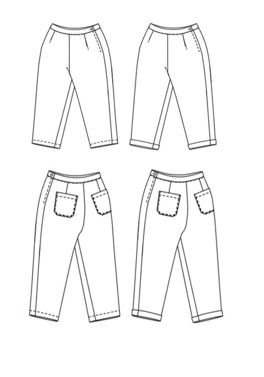 Merchant & Mills Eve Trouser Paper Sewing Pattern