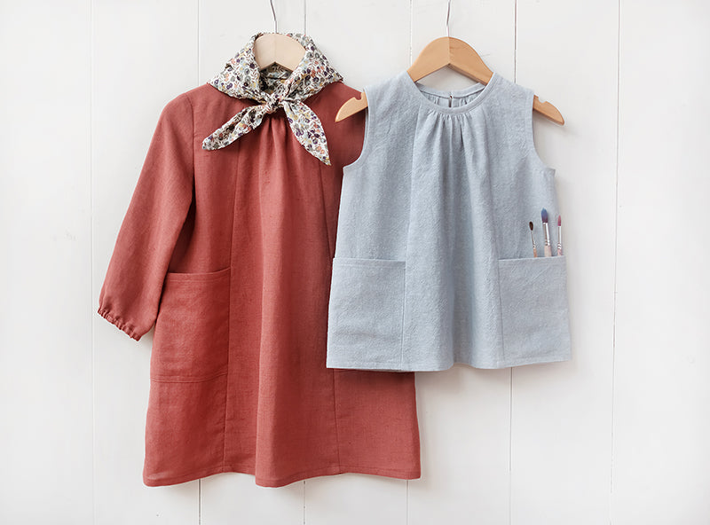 Wiksten Baby + Child Top + Smock Paper Sewing Pattern