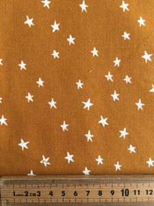 Cotton & Steel Toffee Stars