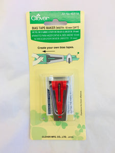 Clover Bias Tape Maker 18 mm 3/4""
