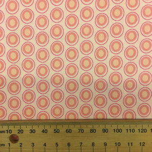 Oval Elements Rose Pink by Art Gallery Fabrics