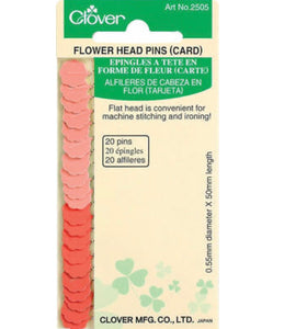 Clover Flower Head Pins