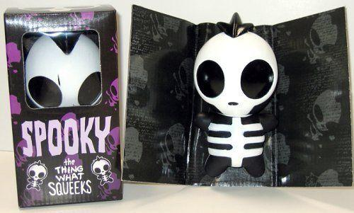 Spooky Squeak Toy designed by Jhonen Vasquez