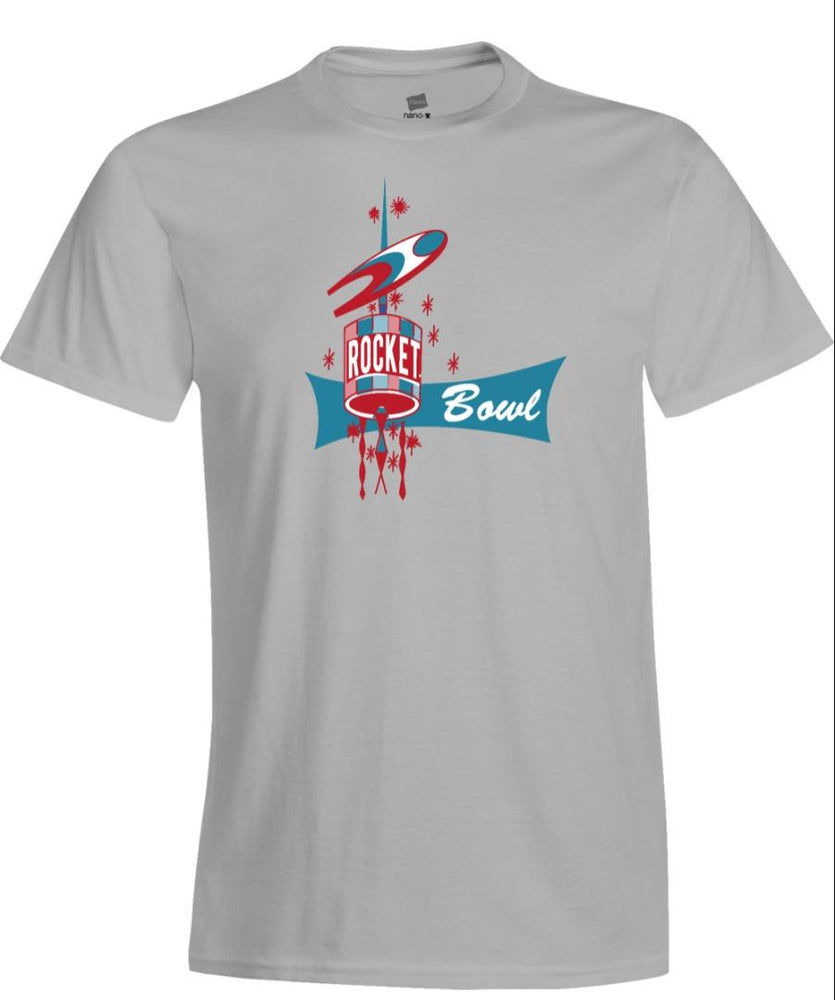 Rocket Bowl Ladies T-Shirt 1