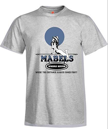 Load image into Gallery viewer, Mabel's Whorehouse Souvenir Men's T-Shirt Vintage Matchbook Advertising Art