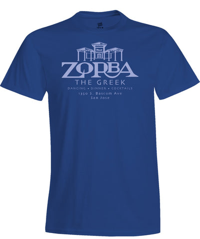 Zorba The Greek Restaurant Matchbook Women's T Shirt