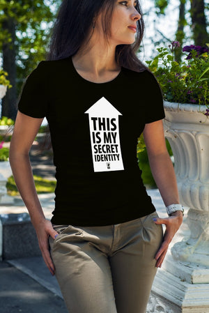 Load image into Gallery viewer, This is My Secret Identity Women's T Shirt