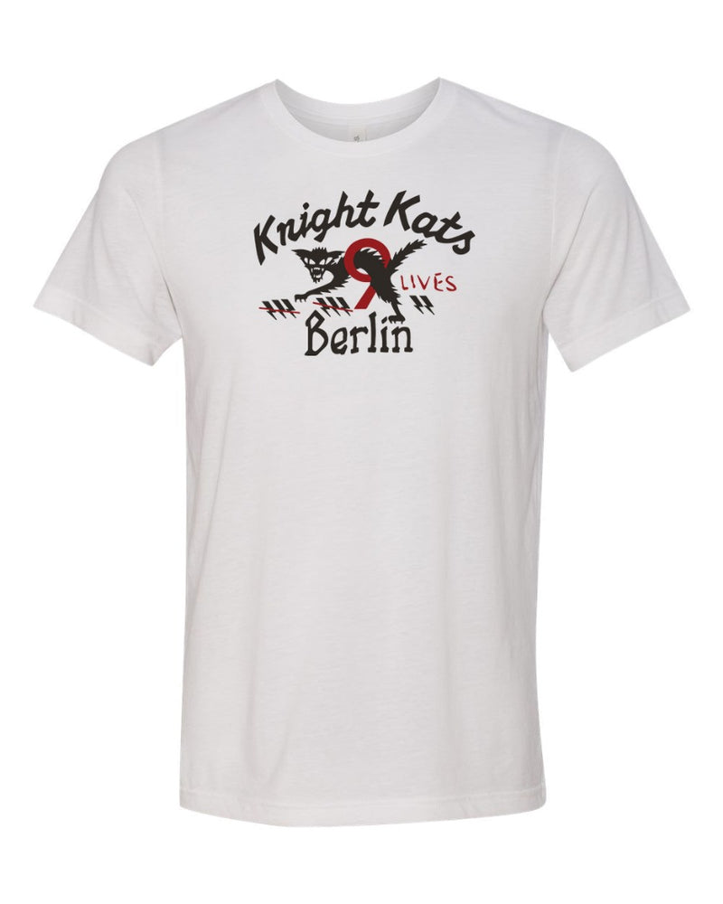 Load image into Gallery viewer, Knight Kats Berlin Motorcycle T-Shirt Men's