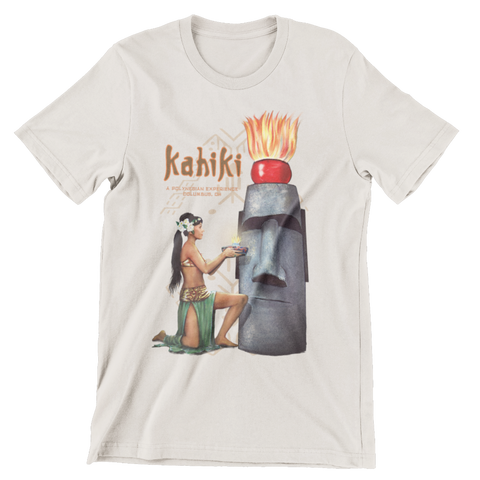 Kahiki Tiki Bar Mystery Girl Columbus Oh Tribute Men's Shirt #2