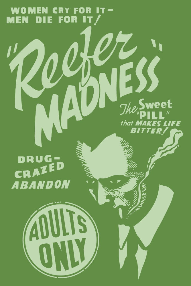 Reefer Madness Movie Poster Reproduction Poster/Print/Card