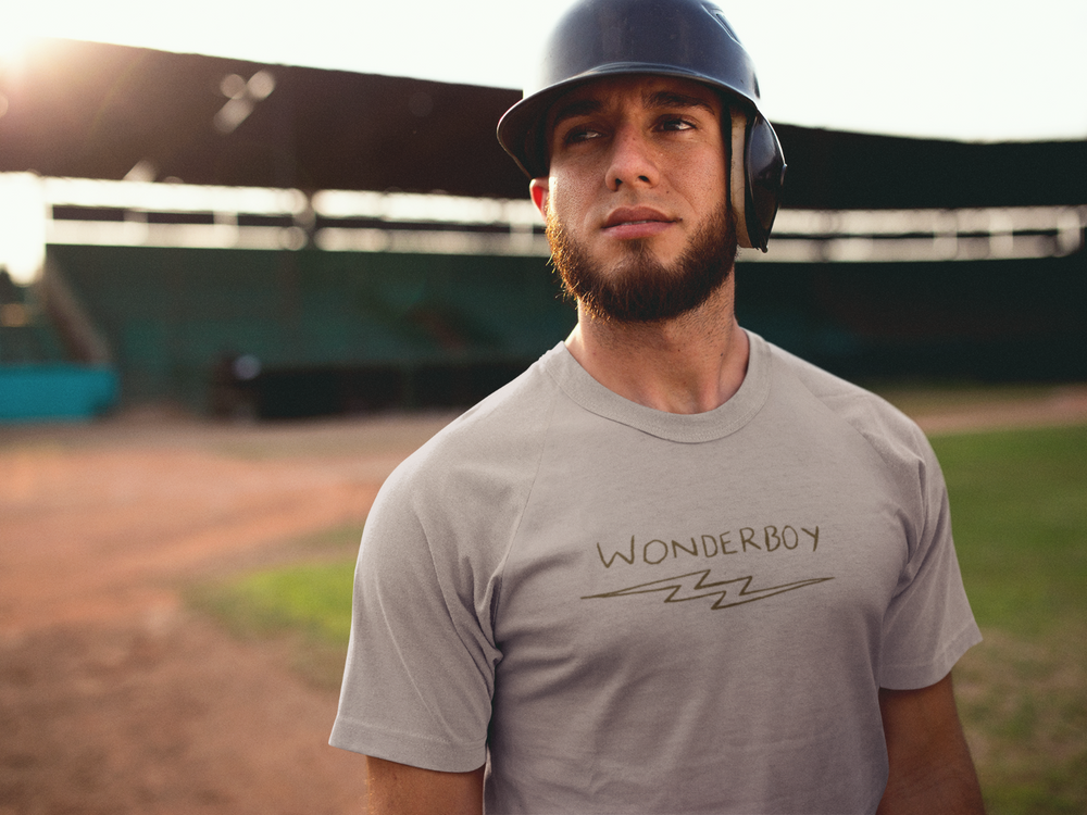 Load image into Gallery viewer, Wonderboy The Natural  Baseball Bat T-shirt