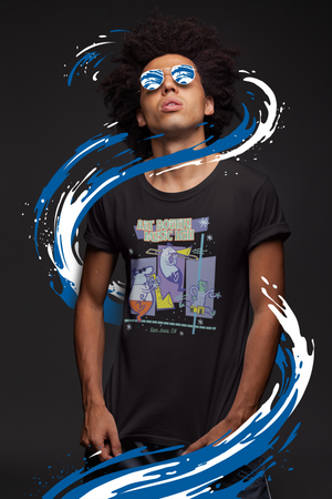 Art Boutiki Music Hall Space Age Jazz T-Shirt