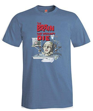 The Brain That Wouldn't Die Poster Reproduction T-shirt