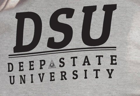 Deep State University Men's T-Shirt #2