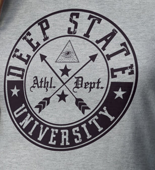 Deep State University Men's T-Shirt - 01