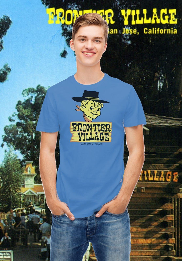 Frontier Village Amusement Park Sticker Reproduction T-Shirt San Jose, CA