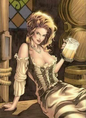 Beer Wench Print