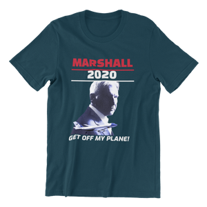 Load image into Gallery viewer, Marshall for President 2020 Air Force One Parody Men's t-shirt