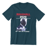Marshall for President 2020 Air Force One Parody Men's t-shirt