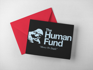 The Human Fund Holiday Festivus Card - Set of Two