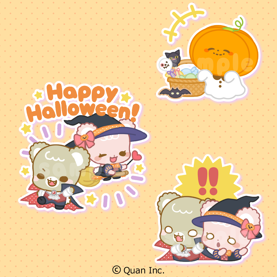 [Digital] The limited Halloween sticker (PNG files)