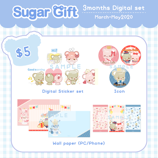 [Back Issue] Vol.March~Vol.May Digital items