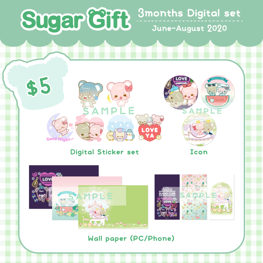 [Back Issue] Vol.June~Vol.August Digital items