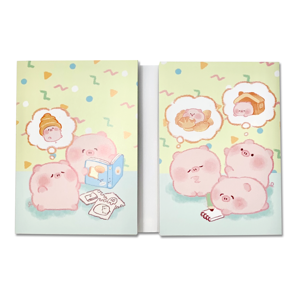 Potepote Kobuta-chan Breadmaking stationery set