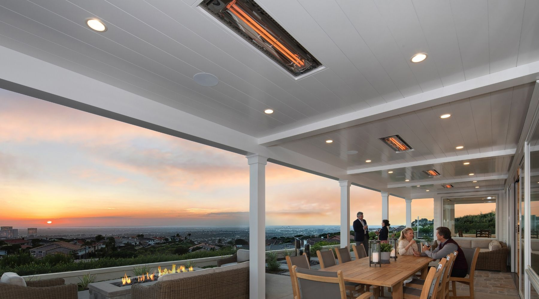 Flush Mounted Patio Heaters