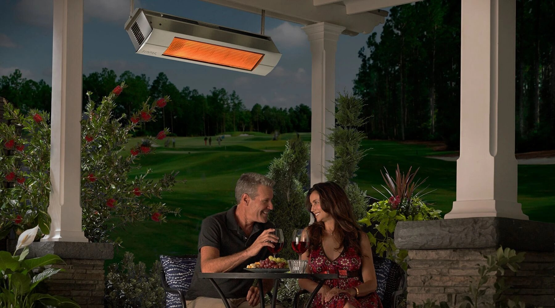 Overhead Gas Patio Heaters
