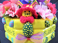 Custom Yellow Easter Bunny Centerpiece