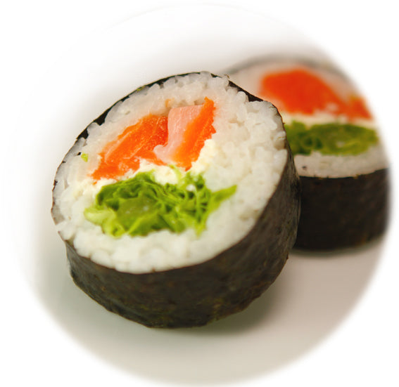 Salmon + Cream Cheese Maki