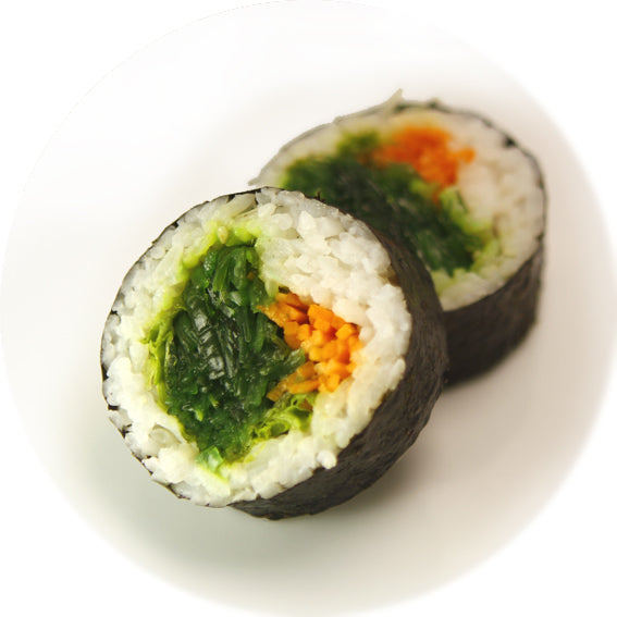 Seaweed Salad + Vegetables Maki