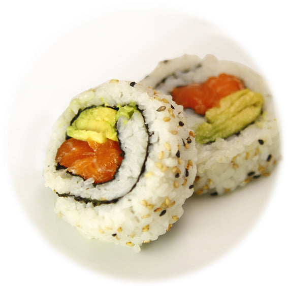 Salmon Avocado Uramaki