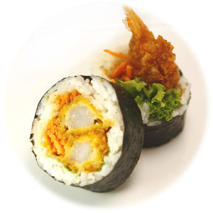 Prawn +Vegetables Maki