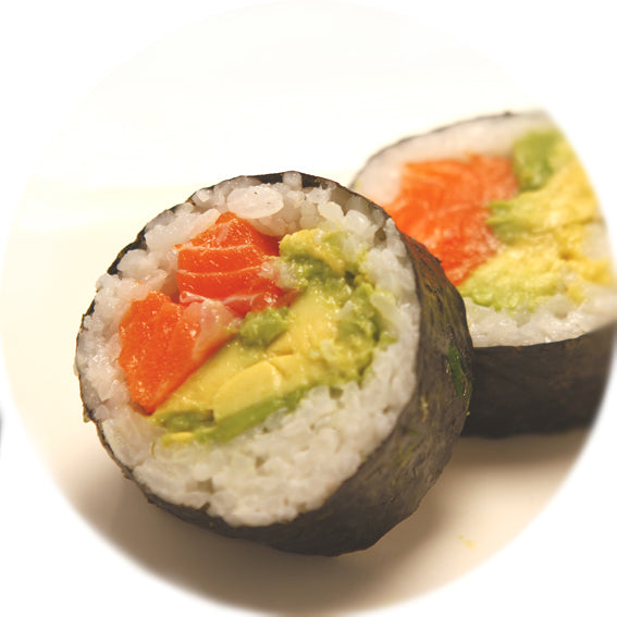 Salmon + Avocado Maki