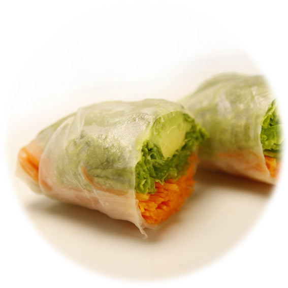 Rice paper roll mixed Vege