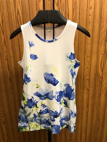 Susie country flower top