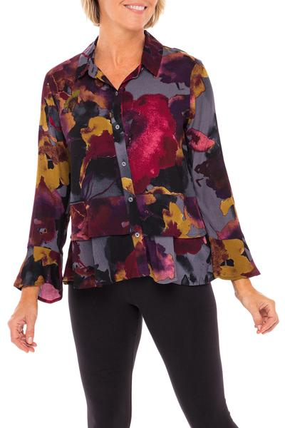 Marleen floral blouse