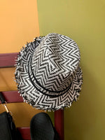 Sunday chevron hat