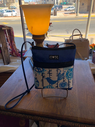 Honey bluebird purse