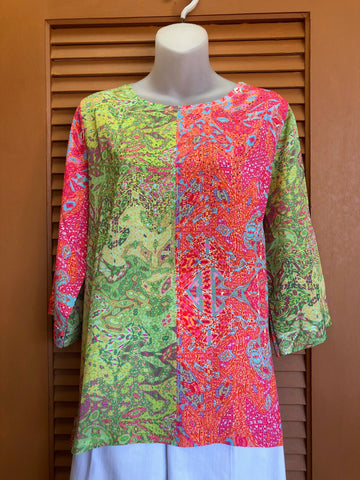 Wendy damask top